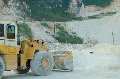 khai thác bột khoáng CaCO3