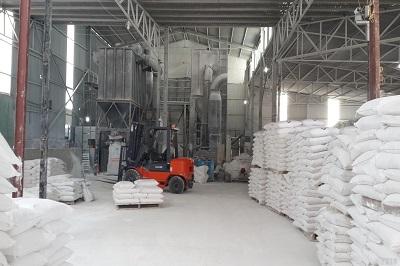 sản xuất bột khoáng CaCO3